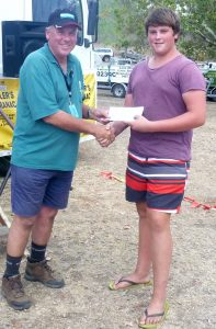 Nick Scanlan - Junior Heaviest Overall Catfish ($50 sponsored by RJ Liquid Waste Services)